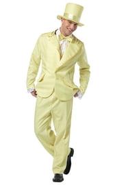 Желтый костюм в стиле фанк