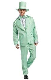 Зеленый костюм в стиле фанк