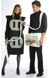 Парный костюм вилки с розеткой