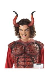 Длинные рога и зубы дьявола