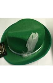 Шляпа для октоберфеста зеленая