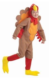 Детский костюм петушка коричневый