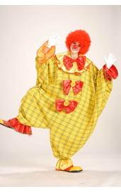 Желтый костюм большого клоуна