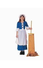 Синий костюм колониальной девочки
