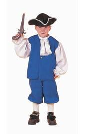 Синий костюм колониального мальчика