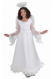 Детский костюм белоснежного ангелочка