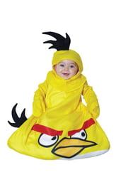 Желтый костюм Angry Birds для малышей