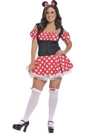 Корсетное платье мышки Минни