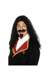 Черный парик мушкетера
