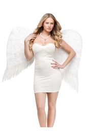 Огромные белые крылья