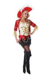 Стильный костюм пиратки