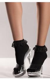 Черные короткие носочки