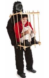 Костюм гориллы с клеткой