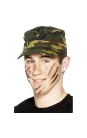 Камуфляжная армейская кепка