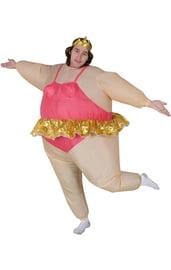 Костюм надувной балерины
