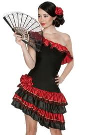 Костюм страстной испанской танцовщицы