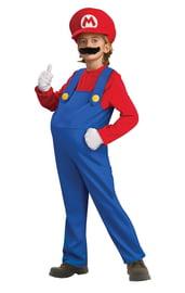 Детский костюм Марио Deluxe