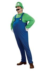 Взрослый костюм Луиджи Deluxe