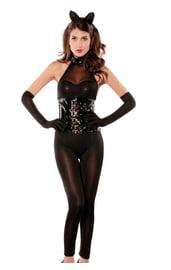 Сексуальный костюм женщины кошки