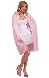 Розовый плащ 115 см