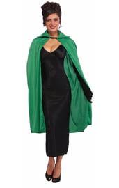 Зеленый плащ 115 см