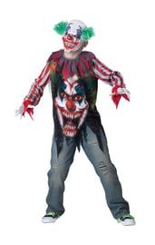 Костюм жуткого клоуна детский