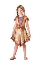 Костюм милой индейской девочки