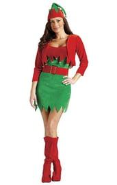 Женский костюм рождественского эльфа