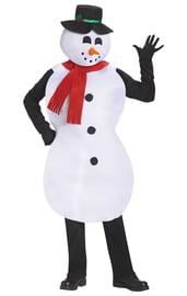 Костюм веселого Снеговика