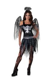 Костюм черного ангела подростковый