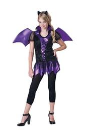 Костюм летучей мыши фиолетовый