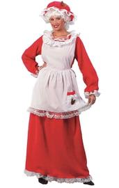 Костюм миссис Клаус красный
