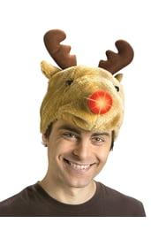 Светящаяся шляпа-олень