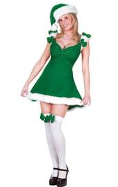 Зеленый костюм секси Эльфа