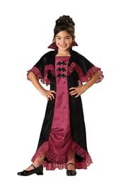 Костюм модной вампирши детский