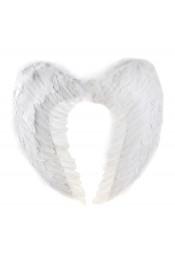 Крылья белые 60 см