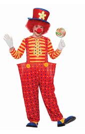 Костюм озорного клоуна детский