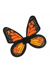 Атласные крылья Бабочка оранжевые