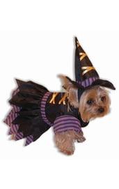 Костюм ведьмочки для собак