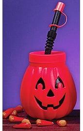 Питьевой кубок на Хэллоуин Тыква