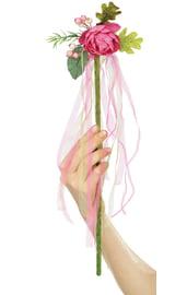 Цветочная палочка феи Розовая