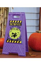 Предупреждающая табличка Ведьмы