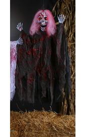 Кровавая Смерть с розовыми волосами