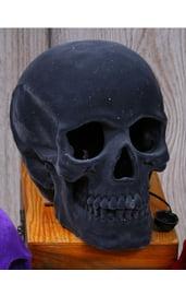Светящийся череп с серым напылением