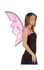 Ярко-розовые крылья бабочки