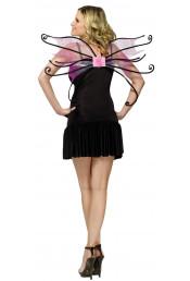 Крылья феи Паучок розовые