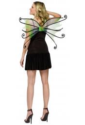 Крылья феи Паучок зеленые