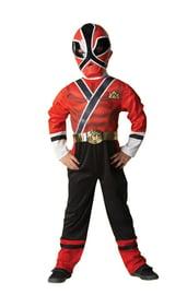 Костюм могучего рейнджера самурая в красном