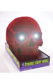 Светящийся череп с красным напылением