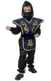 Детский костюм ниндзя синий
